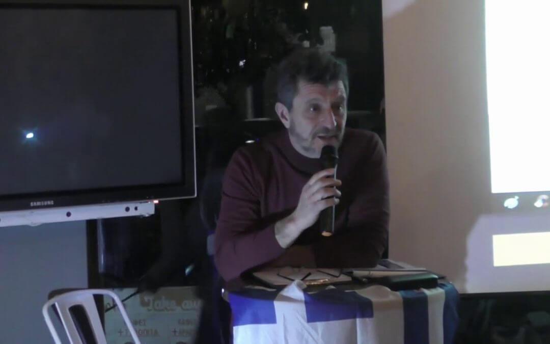 Ο ΙΑΣΩΝΑΣ ΧΑΡΑΛΑΜΠΙΔΗΣ ΣΤΟΝ ΚΟΡΥΔΑΛΛΟ 24/2/2019