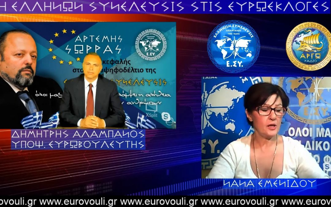 ΔΗΜΗΤΡΗΣ ΑΛΑΜΠΑΝΟΣ ΣΤΟ ΡΑΔΙΟ ΑΡΓΩ 22-4-2019